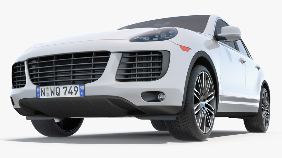 Luxury Cars Collection 21 royalty-free 3d model - Preview no. 24