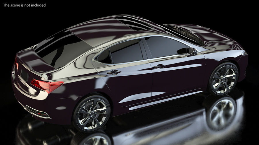 Luxury Cars Collection 21 royalty-free 3d model - Preview no. 5