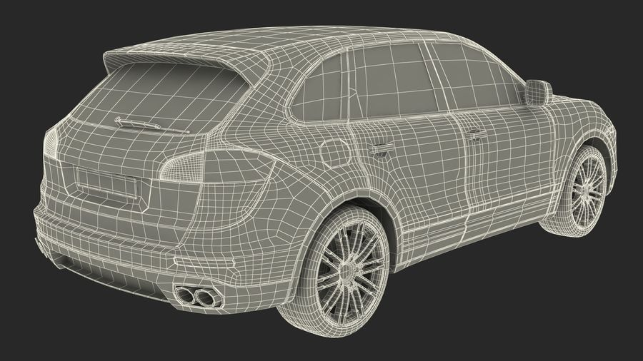 Luxury Cars Collection 21 royalty-free 3d model - Preview no. 42