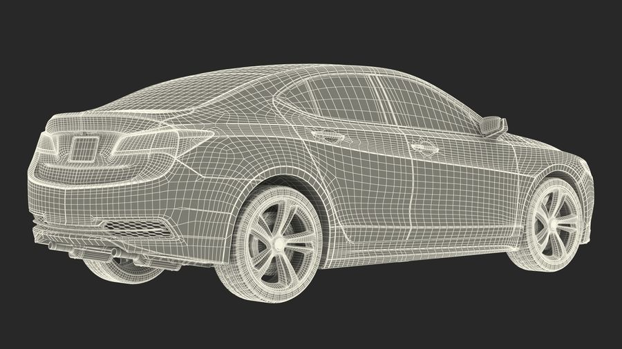 Luxury Cars Collection 21 royalty-free 3d model - Preview no. 41