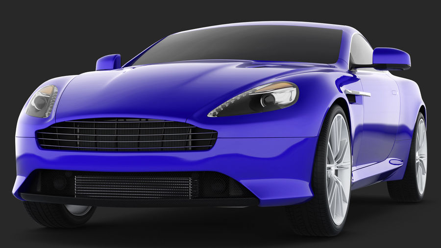 Luxury Cars Collection 21 royalty-free 3d model - Preview no. 30
