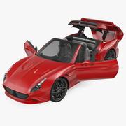 Generic Sport Car Rigged 3d model