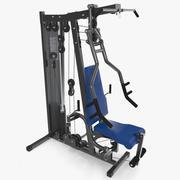 멀티 체육관 운동 장비 3d model