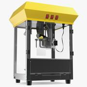 Pusta maszyna do popcornu 3d model
