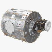 Węzeł jedności modułu ISS 1 3d model