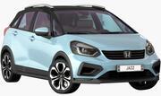 Honda Jazz 2020 (Ouverture des portes et du coffre) 3d model