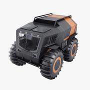 地形車両 3d model
