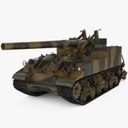 M40 Tabanca Motorlu Taşıyıcı 3d model