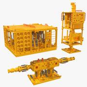 Struktury podwodne 3d model