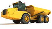 Camion articolato 3d model