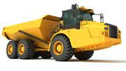 Gelede vrachtwagen 3d model