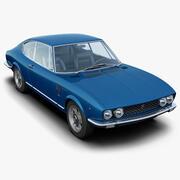 Fiat Dino Coupé 3d model