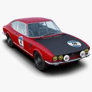 Fiat Dino Coupé Mille Miglia 3d model