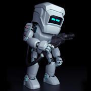 Repair robot 3d model