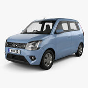 Suzuki Maruti Wagon R 2019 3d model