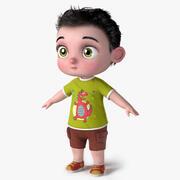 Bambino bambino 3d model