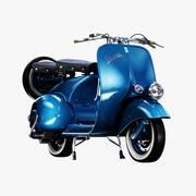 1946 Vespa Faro Basso 3d model