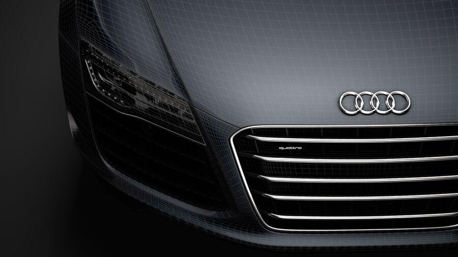 Audi R8 LMX Spyder del 2016 royalty-free 3d model - Preview no. 38