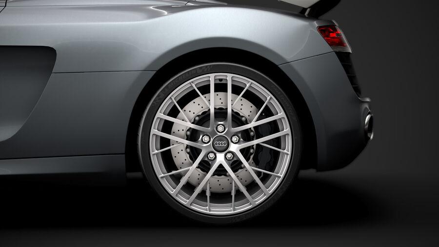 Audi R8 LMX Spyder del 2016 royalty-free 3d model - Preview no. 8