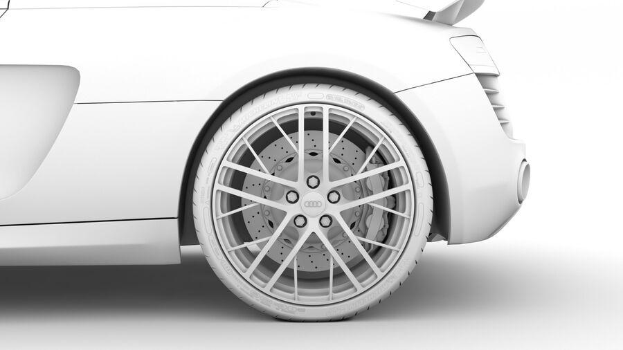 Audi R8 LMX Spyder del 2016 royalty-free 3d model - Preview no. 22