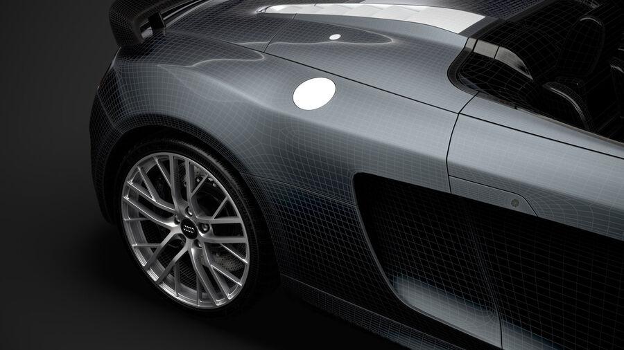 Audi R8 LMX Spyder del 2016 royalty-free 3d model - Preview no. 40