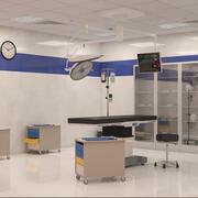 Innenraum des Operationssaals 3d model