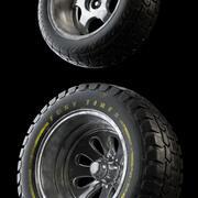 Worren Race autobanden 3d model