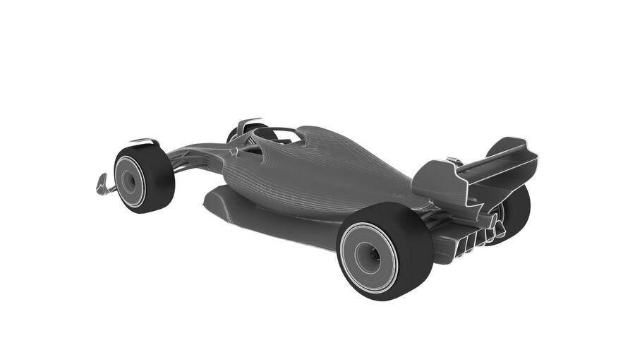 concept formule 1 2021 royalty-free 3d model - Preview no. 19