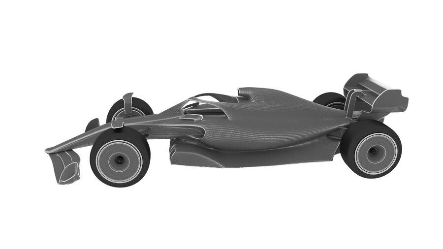 concept formule 1 2021 royalty-free 3d model - Preview no. 11