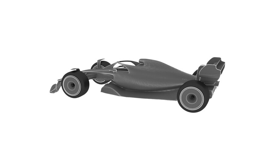 concept formule 1 2021 royalty-free 3d model - Preview no. 15