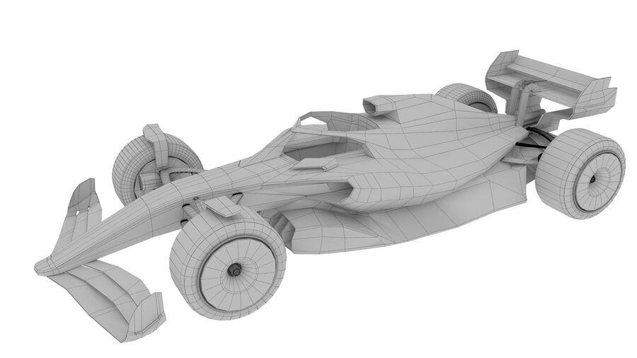 concept formule 1 2021 royalty-free 3d model - Preview no. 2