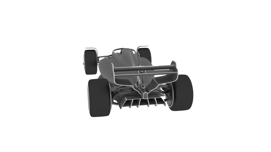 concept formule 1 2021 royalty-free 3d model - Preview no. 24