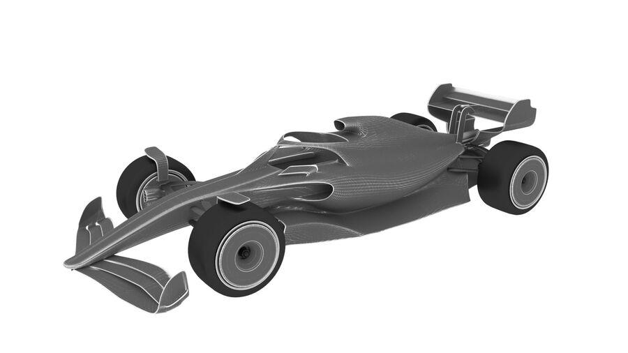 concept formule 1 2021 royalty-free 3d model - Preview no. 8