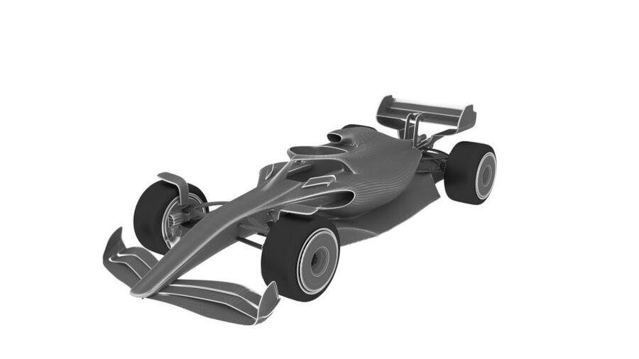 concept formule 1 2021 royalty-free 3d model - Preview no. 1