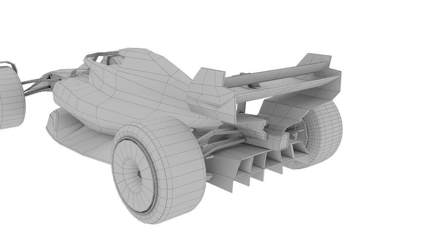 concept formule 1 2021 royalty-free 3d model - Preview no. 3