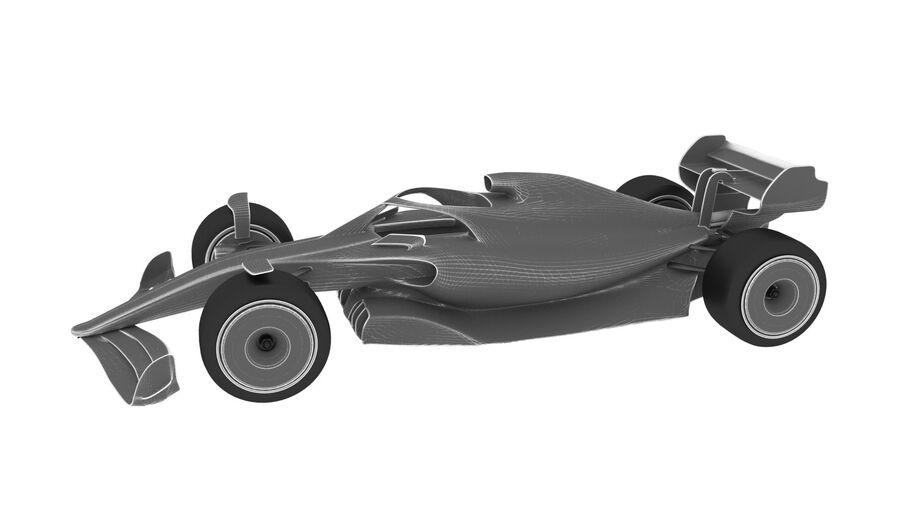 concept formule 1 2021 royalty-free 3d model - Preview no. 10