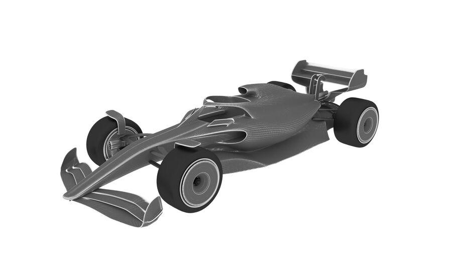 concept formule 1 2021 royalty-free 3d model - Preview no. 7