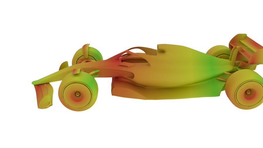 concept formule 1 2021 royalty-free 3d model - Preview no. 29