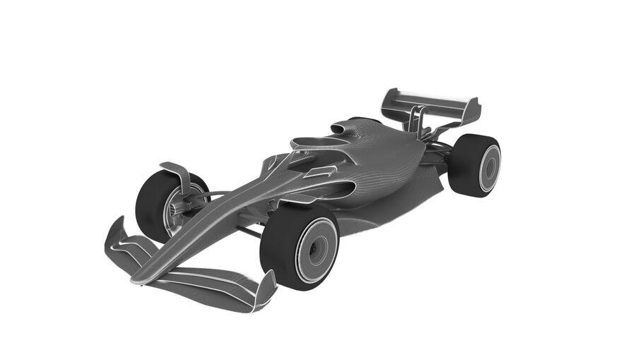 concept formule 1 2021 royalty-free 3d model - Preview no. 5