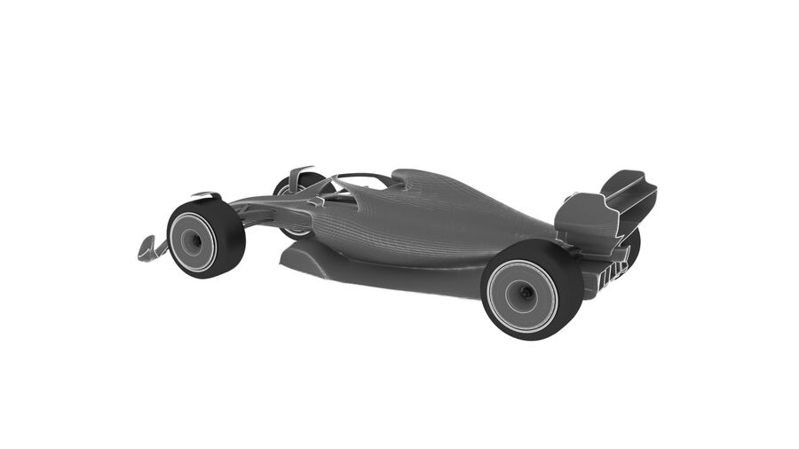 concept formule 1 2021 royalty-free 3d model - Preview no. 17