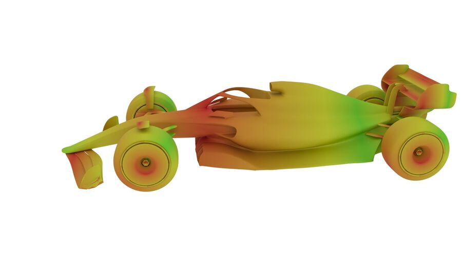 concept formule 1 2021 royalty-free 3d model - Preview no. 28