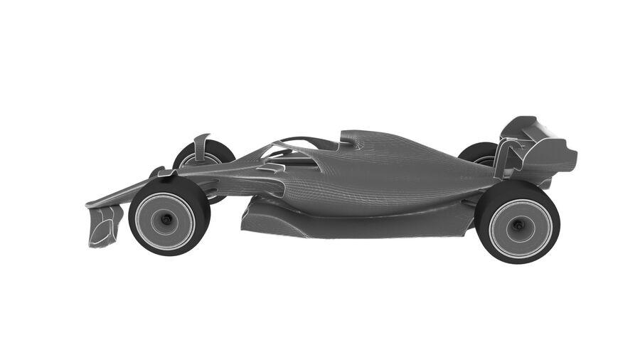 concept formule 1 2021 royalty-free 3d model - Preview no. 12