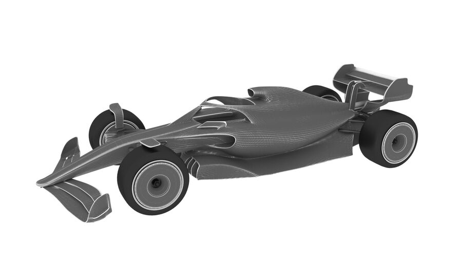 concept formule 1 2021 royalty-free 3d model - Preview no. 9