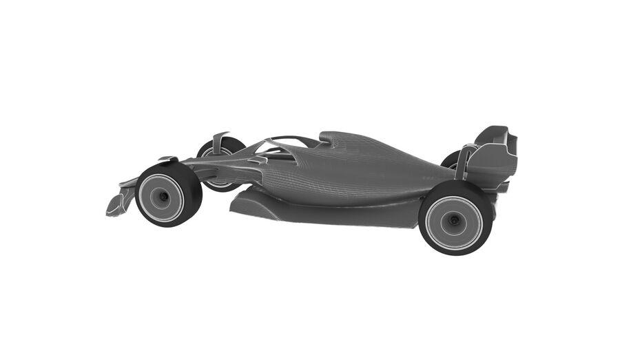 concept formule 1 2021 royalty-free 3d model - Preview no. 14