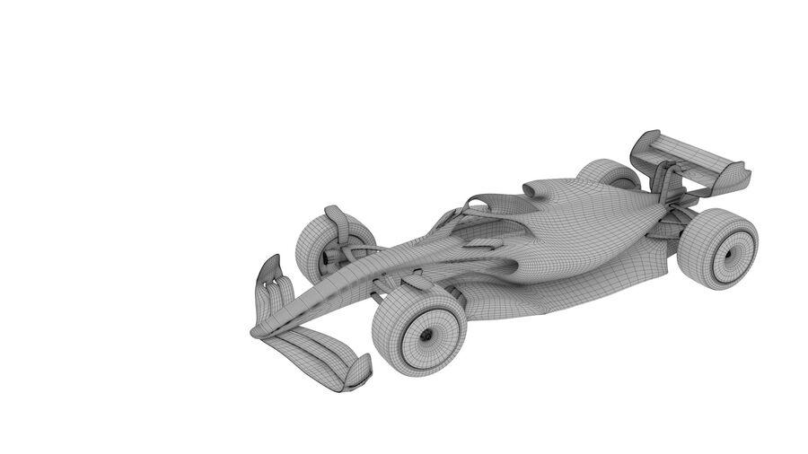 concept formule 1 2021 royalty-free 3d model - Preview no. 4