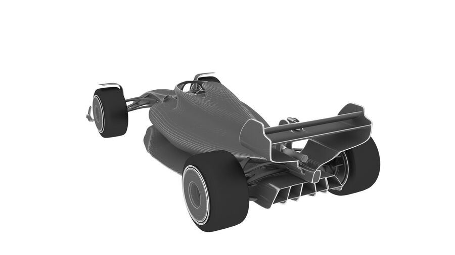 concept formule 1 2021 royalty-free 3d model - Preview no. 21