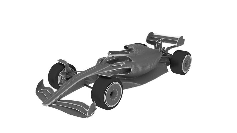 concept formule 1 2021 royalty-free 3d model - Preview no. 6