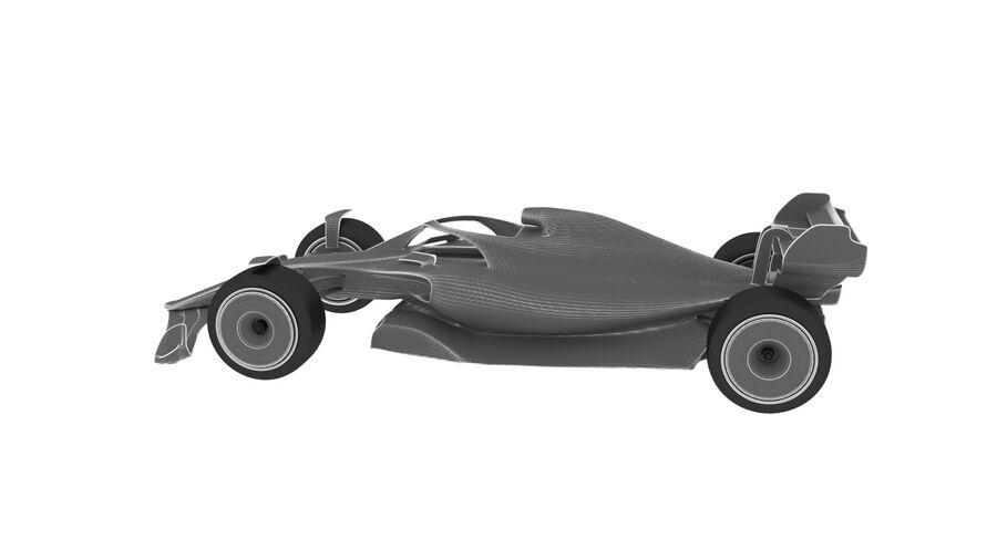 concept formule 1 2021 royalty-free 3d model - Preview no. 13