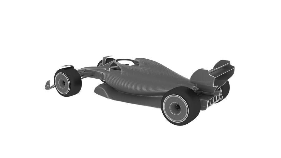 concept formule 1 2021 royalty-free 3d model - Preview no. 18