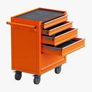 Toolbox Trolley 3d model
